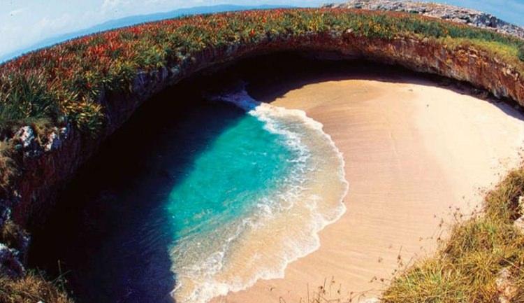 Plaża Miłości w Meksyku