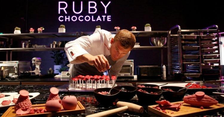 rubinowa czekolada
