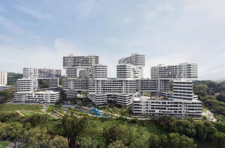 the interlace - apartamentowiec w Singapurze