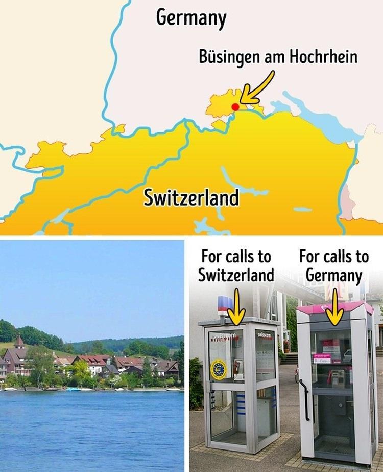Miasto znajdujące się w dwóch krajach