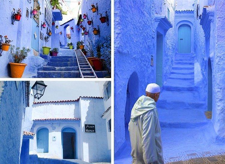 Niebieskie miasto