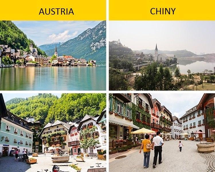 Chińskie austriackie miasto
