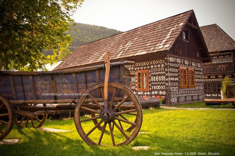 Čičmany Słowacja