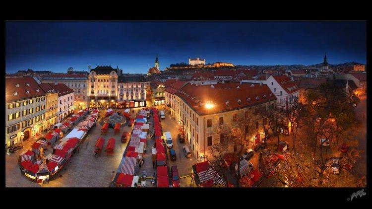 Co warto zobaczyć na Słowacji - Bratysława