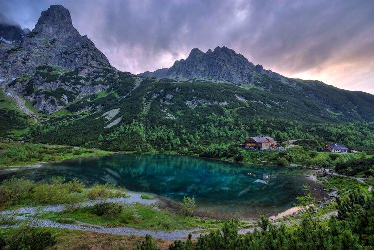 Co warto zobaczyć na Słowacji - Zielony Staw Kieżmarski