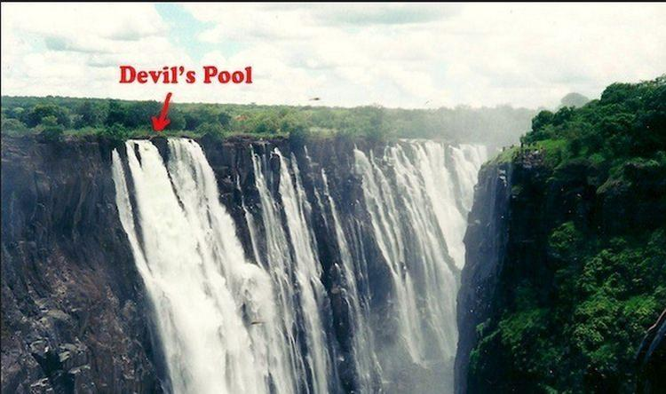 kąpiel w Basenie Diabła (Devil's Pool)