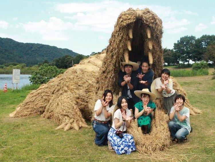 festiwal Wara Art Matsuri