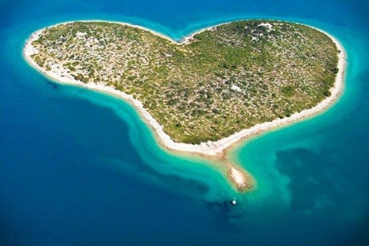 Galešnjak - Wyspa Miłości