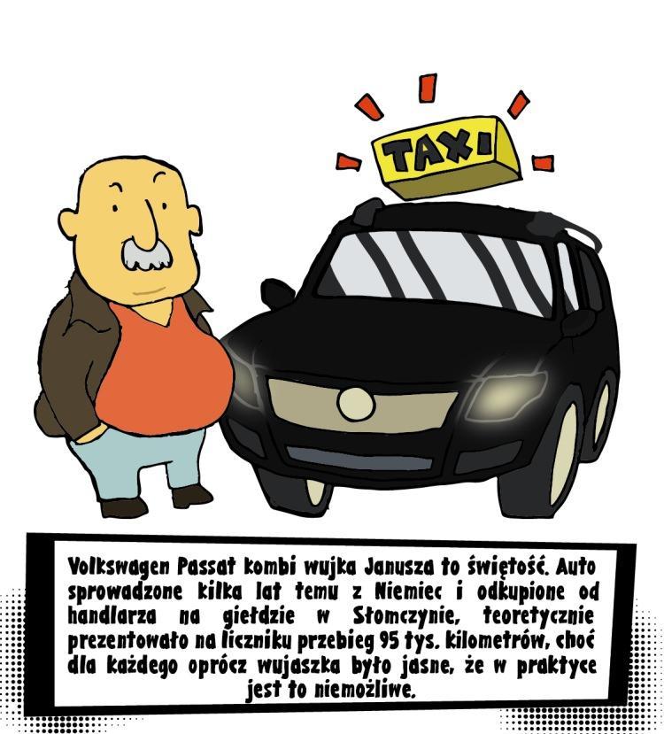 Taxi Janusz
