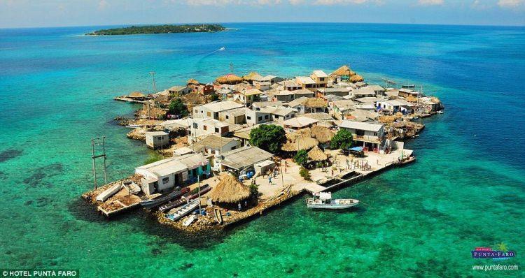 Wyspa Santa Cruz Del Islote