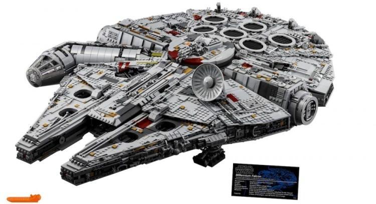 Sokół Millennium z klocków Lego - największy zestaw w historii