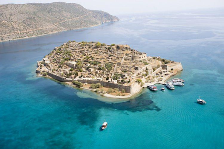 Spinalonga - wyspa trędowatych