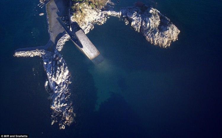 Podwodna restauracja w Norwegii