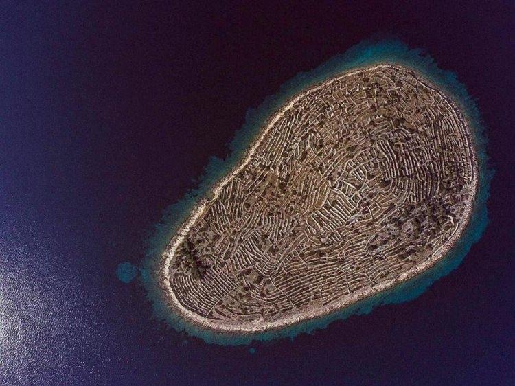 Baljenac - wyspa o kształcie odcisku palca