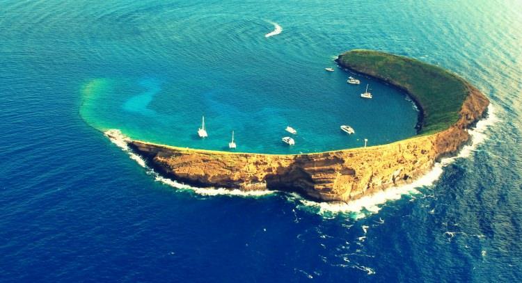 Wyspa Molokini, Hawaje