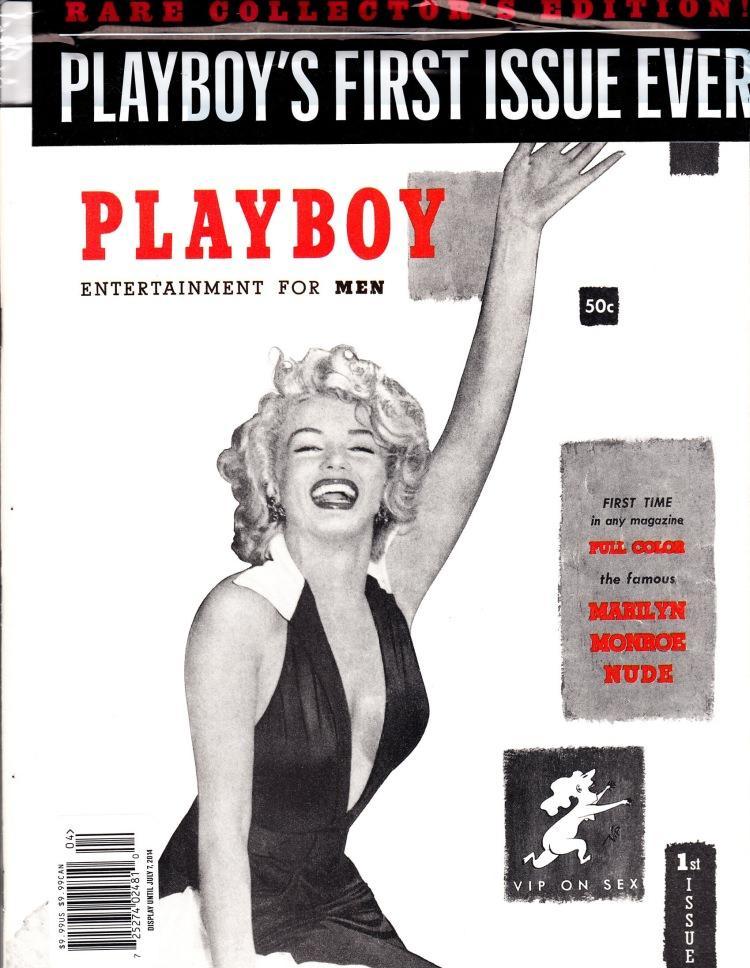 Okładka pierwszego wydania magazyny Playboy