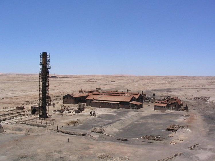 Humberstone – opuszczone miasto w północnym Chile