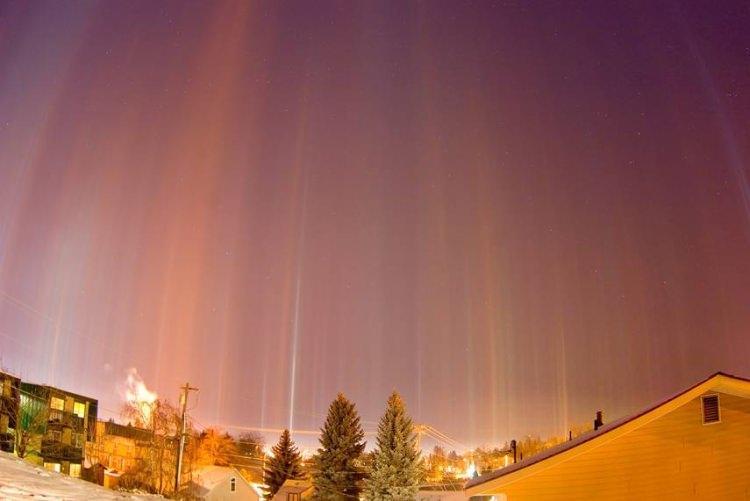 Snopy Światła - zjawisko atosferyczne