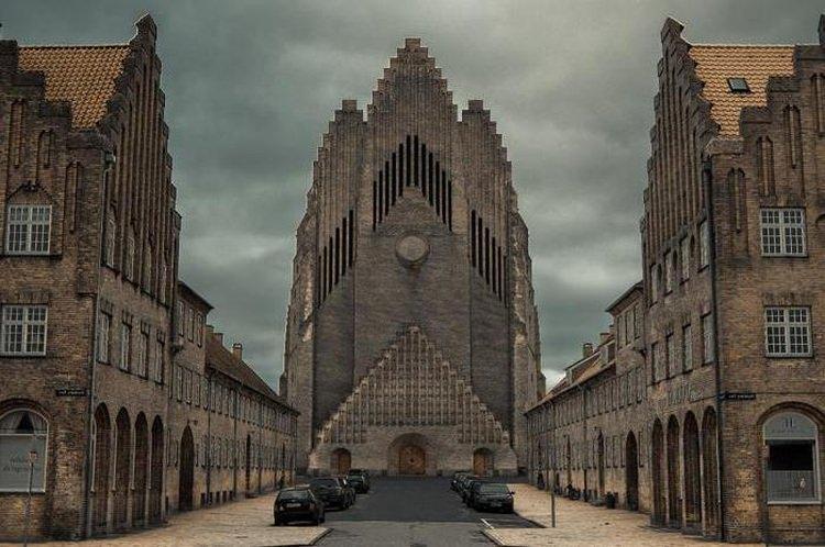 Kościół Grundtviga - Kopenhaga