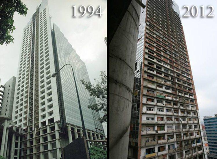 La Torre de David - trzeci najwyższy budynek w Wenezueli
