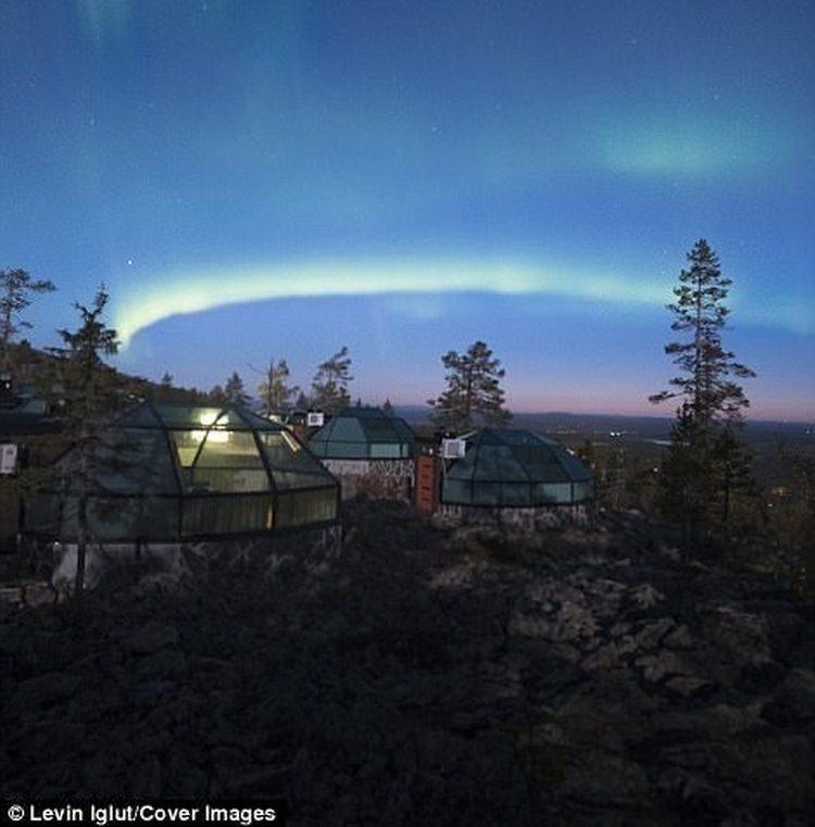 Igloo hotel w Finlandii