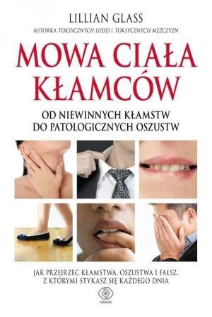 """książka  """"Mowa ciała kłamców"""""""