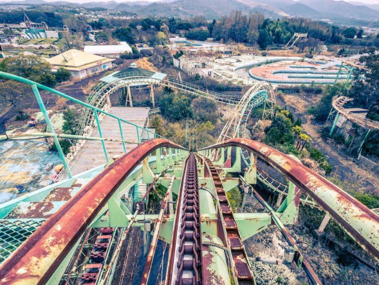 Opuszczony park rozrywki Nara Dreamland