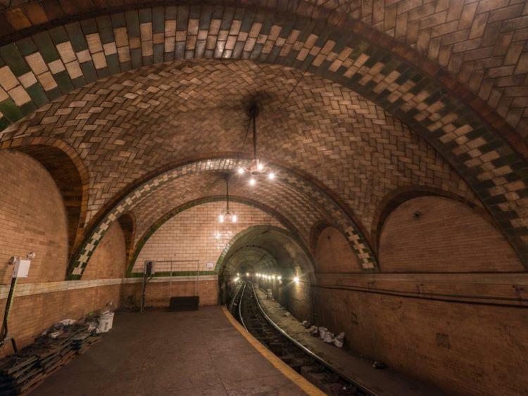 Opuszczona stacja metra w Nowym Jorku