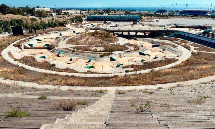 Opuszczone obiekty sportowe w Atenach