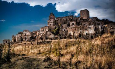 Craco - opuszczone miasto we Włoszech