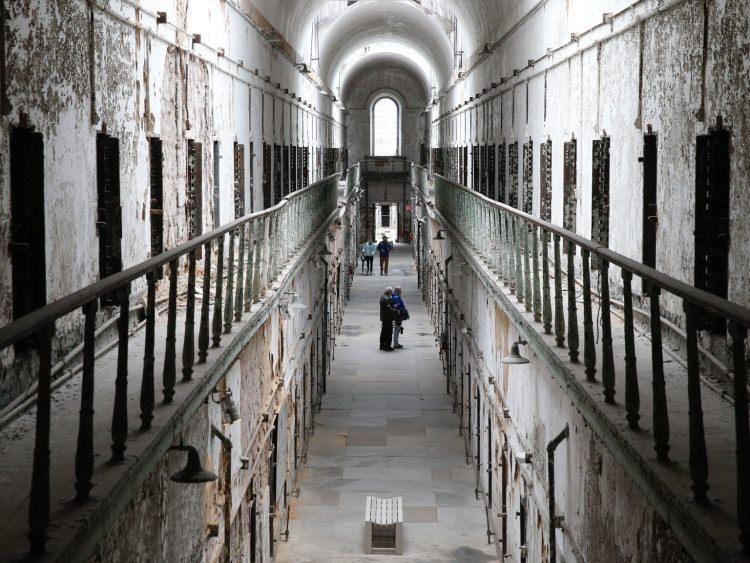 opuszczone więzienie
