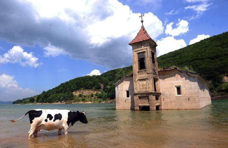 Opuszczony kościół w Macedonii