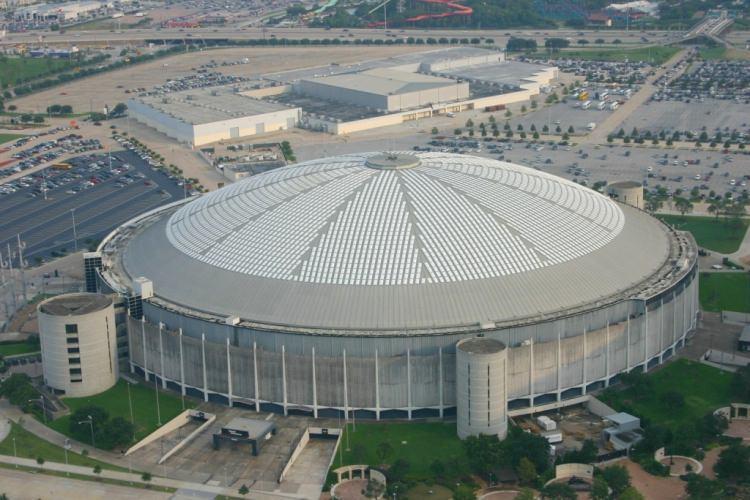 Opuszczony stadion w Houston