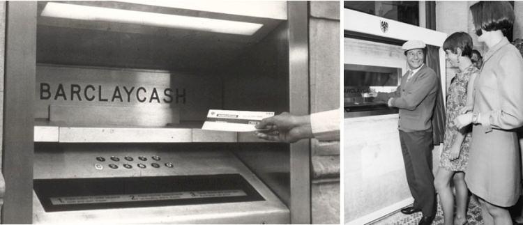 kto wymyślił bankomat