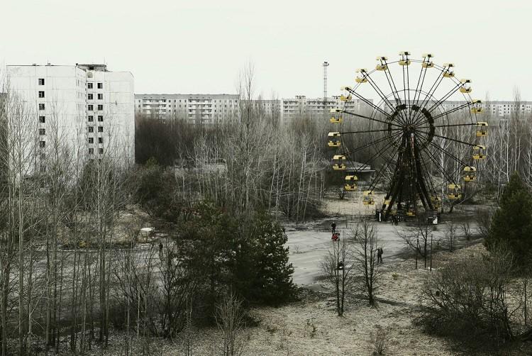 Prypeć – opuszczone miasto w obwodzie kijowskim, w północnej Ukrainie