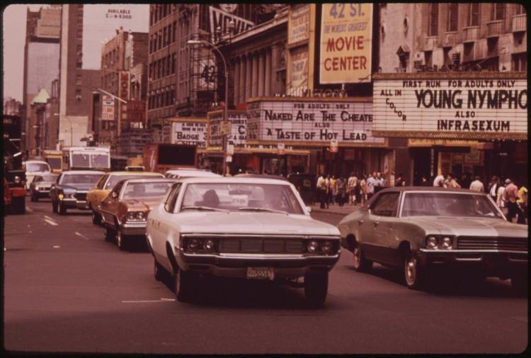 Manhattan w latach 70.