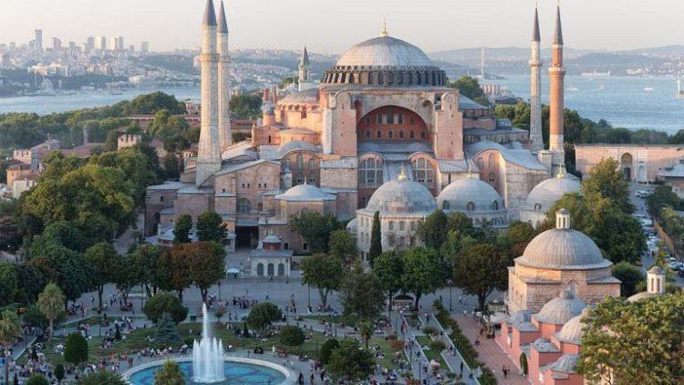 Hagia Sophia - bazylika w otoczeniu minaretów