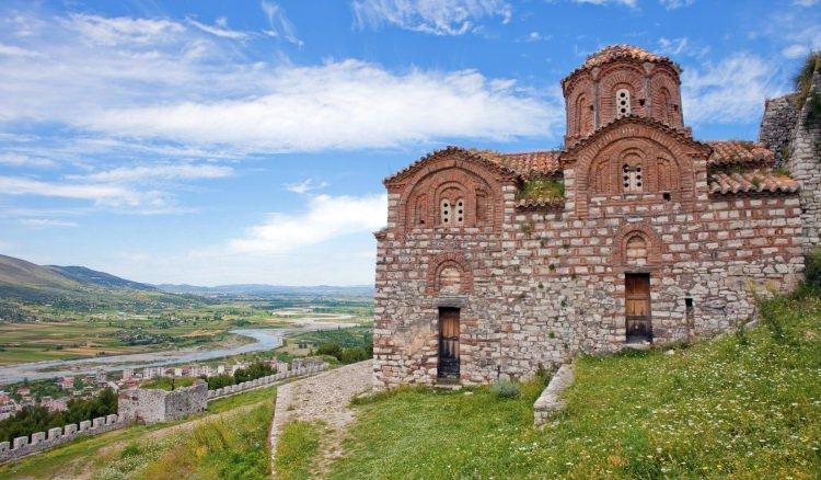 Zamek w Berat, Albania