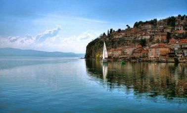 Jezioro Ochrydzkie, Albania