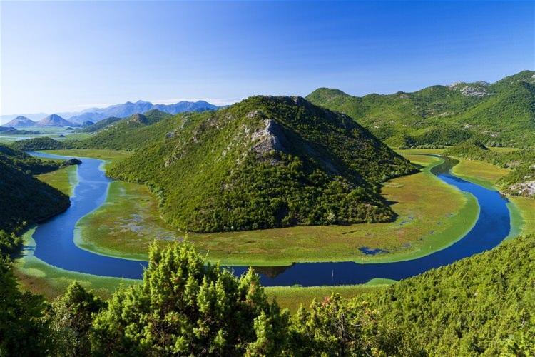 jezioro szkoderskie w Albanii