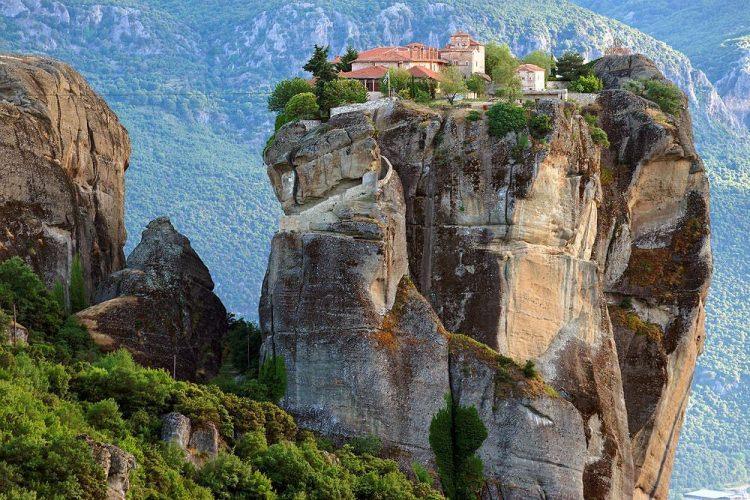 Monastyry w Meteorach, Tesalia, Grecja