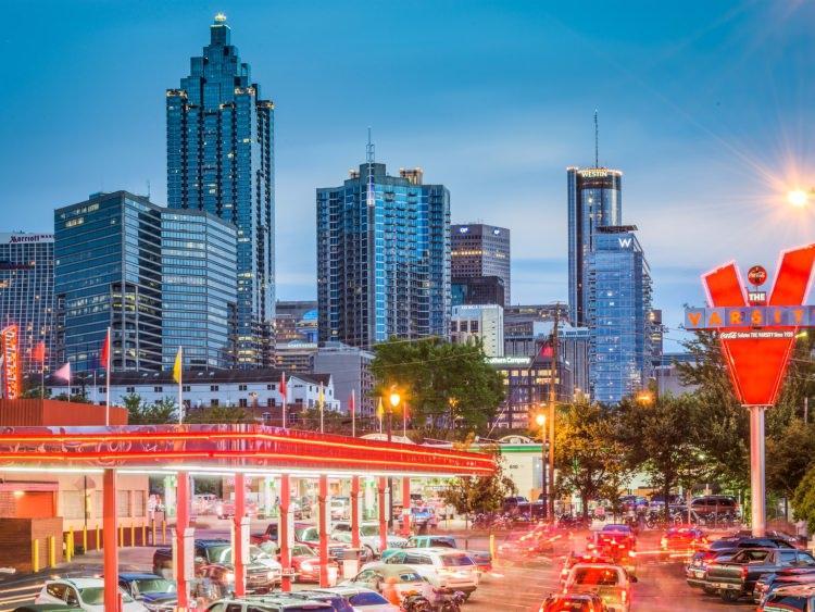 Największa w USA restauracja drive-in znajduje się w Atlancie