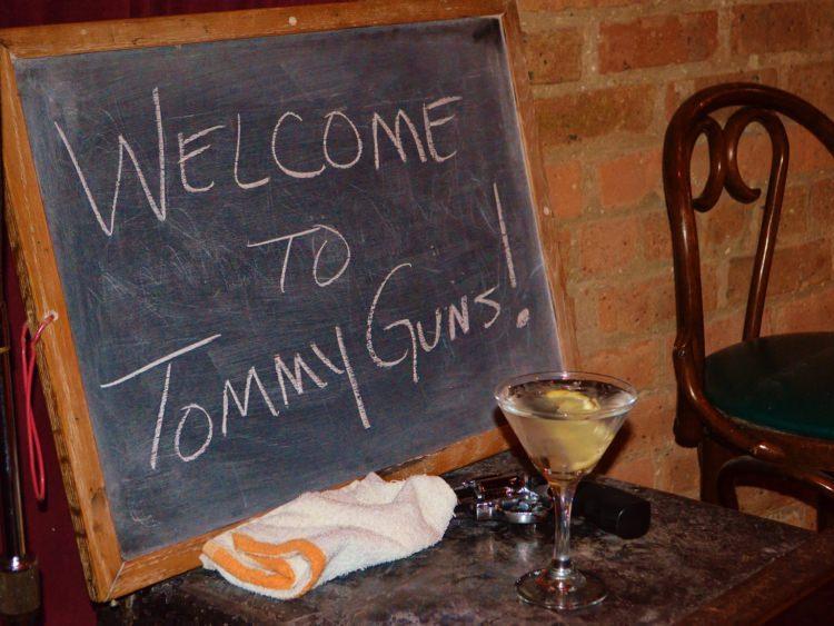 restauracja Tommy Gun's Garage