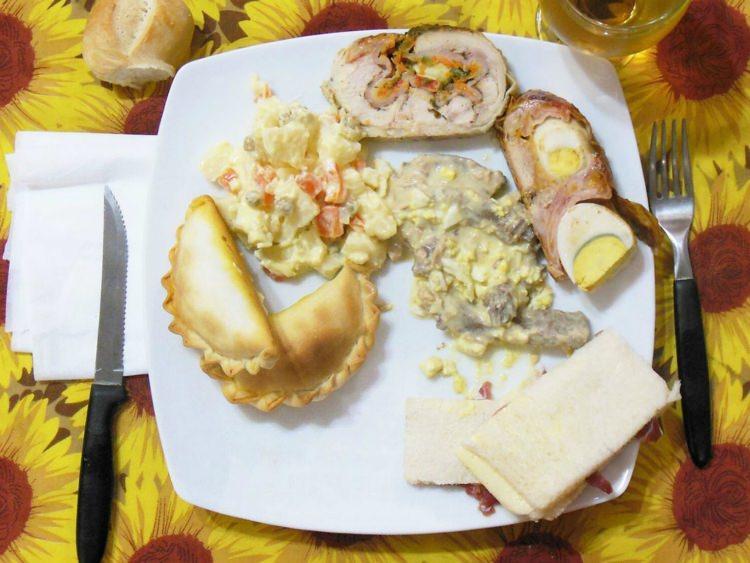 świąteczna kolacja w Argentynie