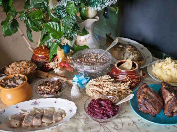 świąteczna kolacja w Czarnogórze