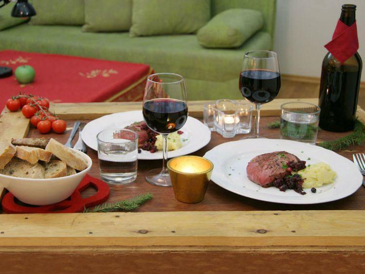 świąteczna kolacja w Estonii