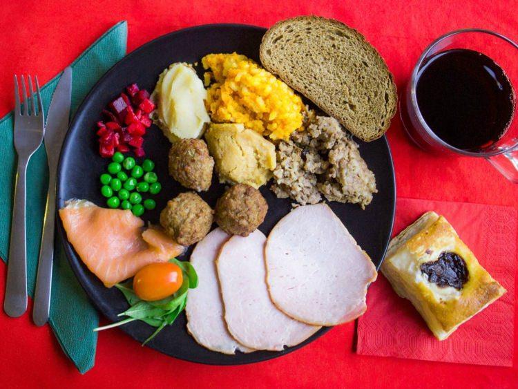 świąteczna kolacja w Finlandii