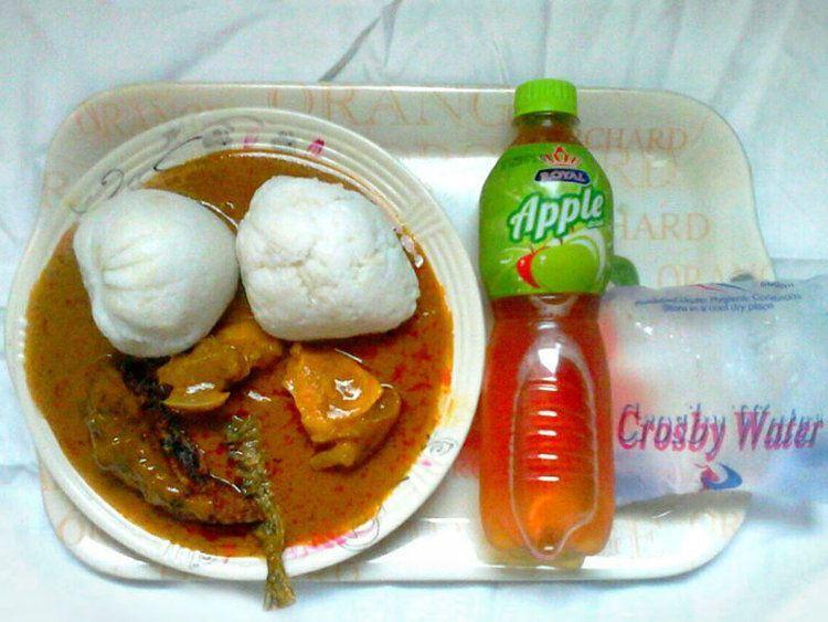 świąteczna kolacja w Ghanie