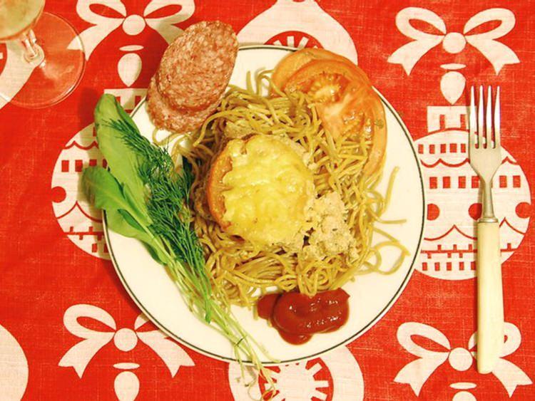 świąteczna kolacja w Rosji