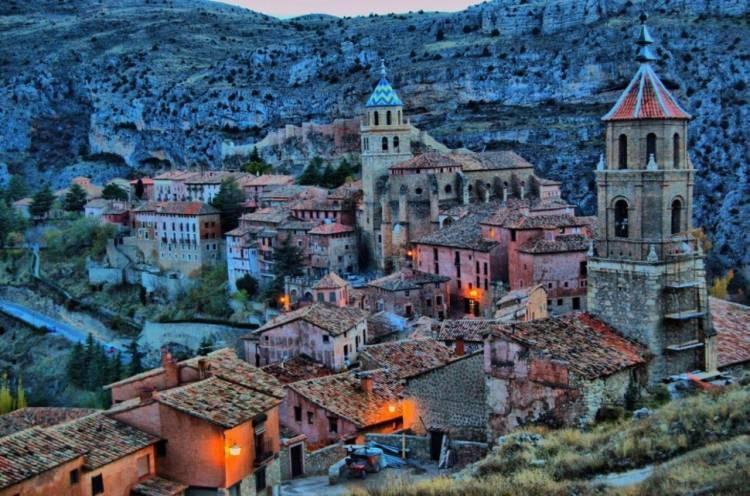 Albarracin w Hiszpanii